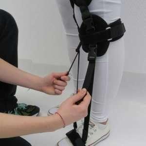 Pro Walk Dynamische Beinführungsorthese | Beinorthese zur Unterstützung des Gehens bei Beinlähmung
