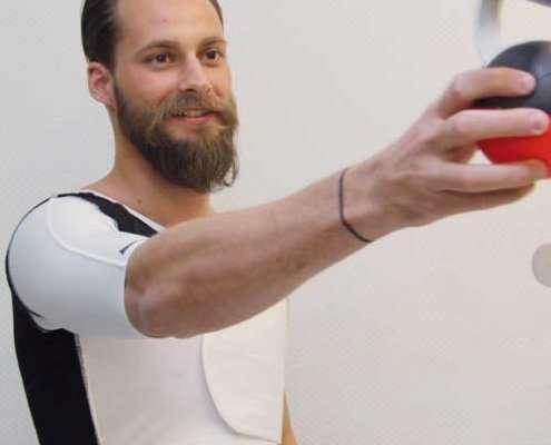 Schulter-Sublux-Orthese zur Stabilisierung des Schultergelenks