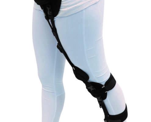 Pro Walk Dynamische Beinführungsorthese | Dynamisches Orthesensystem zur Unterstützung des Gehens bei Beinlähmung