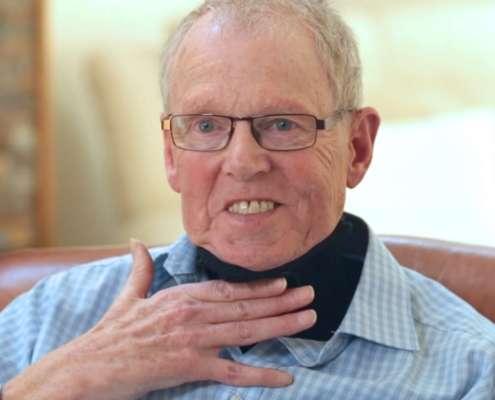 Halskrause bei ALS